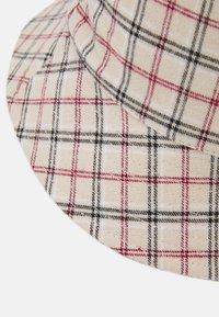 Pieces - PCMADALENA BUCKET HAT - Klobouk - brown sugar/red/brown - 3