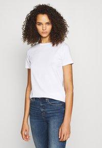 New Look Tall - ORGANIC TEE 2 PACK - Jednoduché triko - black/white - 1