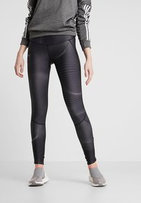 Under Armour - FLY FAST  - Legginsy - jet gray/reflective - 0