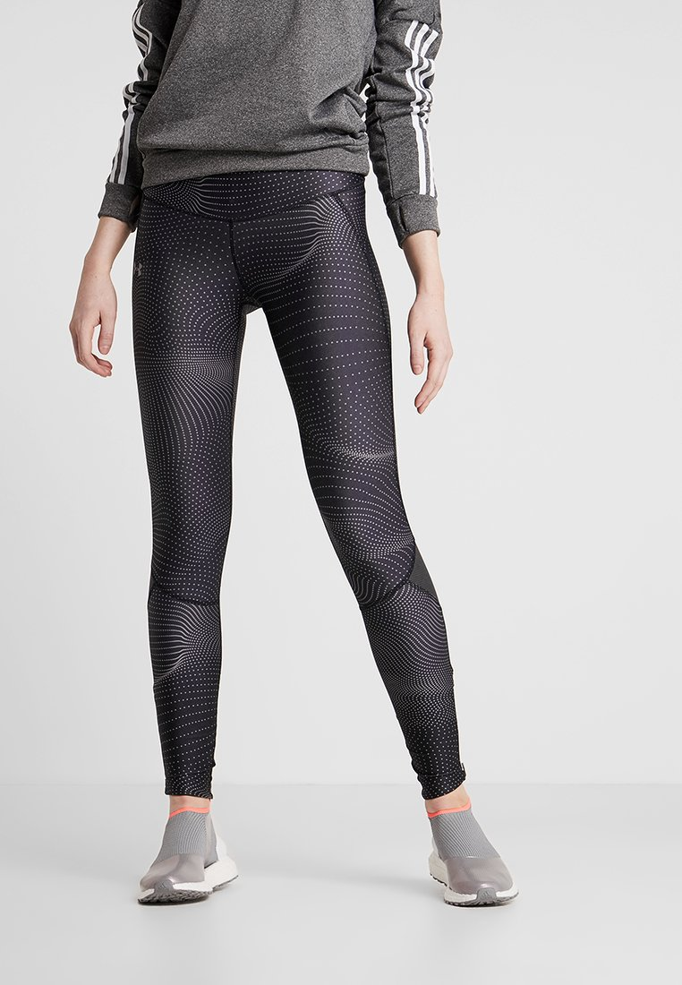 Under Armour - FLY FAST  - Legginsy - jet gray/reflective