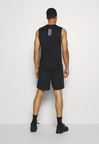 adidas Performance - RUN IT SHORT - Sportovní kraťasy - black - 2