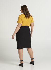 Zizzi - Pencil skirt - black - 1