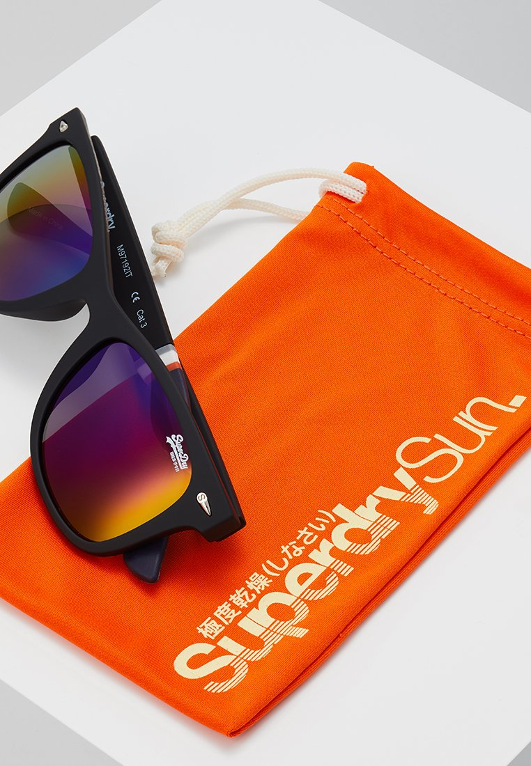 Superdry SOLENT SUN - Sonnenbrille - black rubberised/schwarz - Herrenaccessoires lVtwu