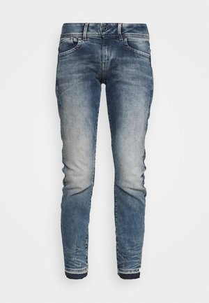 LYNN MID SKINNY RP ANKLE WMN - Jeans Skinny Fit - antic faded kyanite