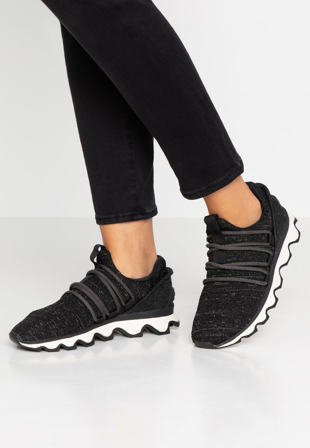 KINETIC LACE - Sneakers laag - black