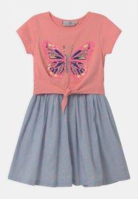 happy girls - Jersey dress - flamingo - 0