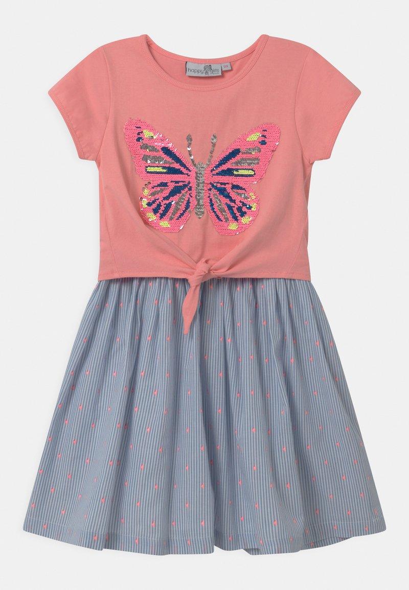 happy girls - Jersey dress - flamingo