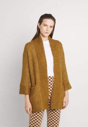 YASSUDANA CARDIGAN - Cardigan - bombay brown melange