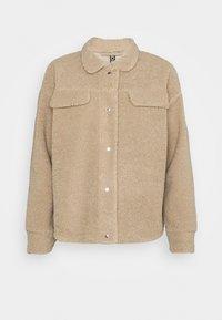 Pieces - PCCARMELLO JACKET  - Summer jacket - silver mink - 3