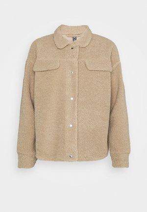 PCCARMELLO JACKET  - Summer jacket - silver mink