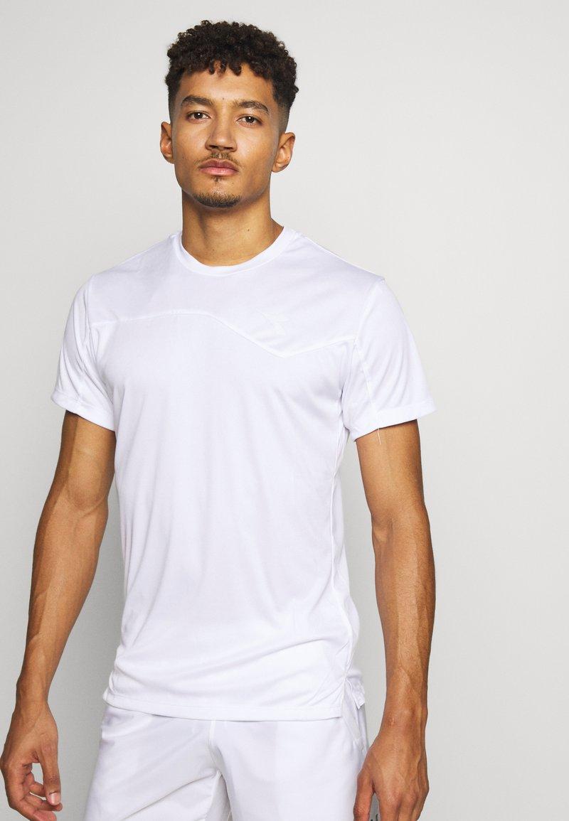 Diadora - TEAM - Camiseta estampada - optical white
