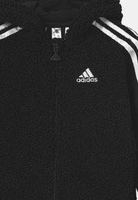 adidas Performance - UNISEX - Tracksuit - black/white - 3