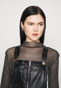 Missguided - DUNGAREE - Overal - black - 3