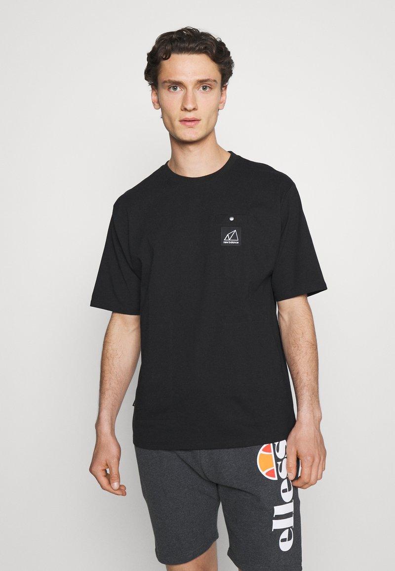 New Balance - ALL TERRAIN POCKET TEE - Basic T-shirt - black