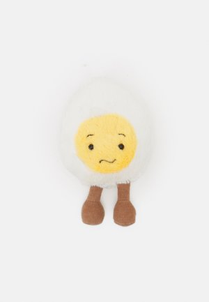 BOILED EGG CONFUSED - Cuddly toy - white