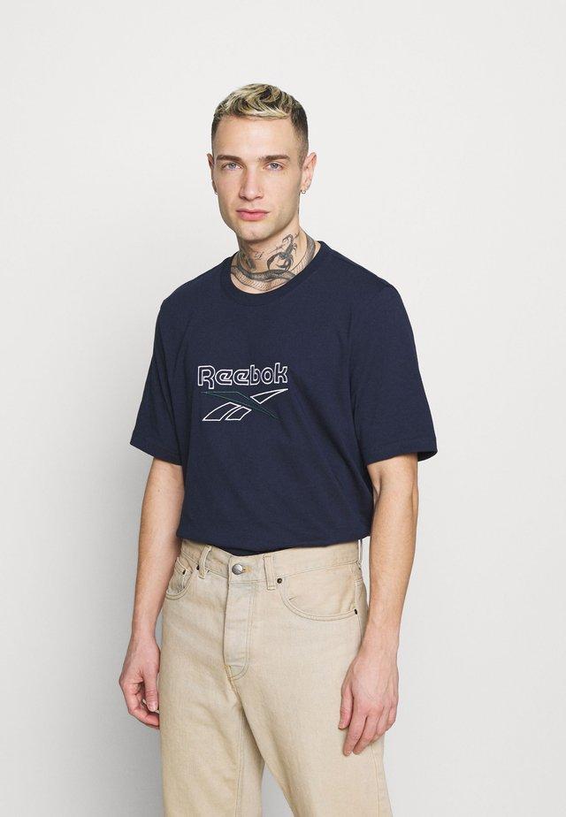 VECTOR TEE - T-shirt print - vector navy