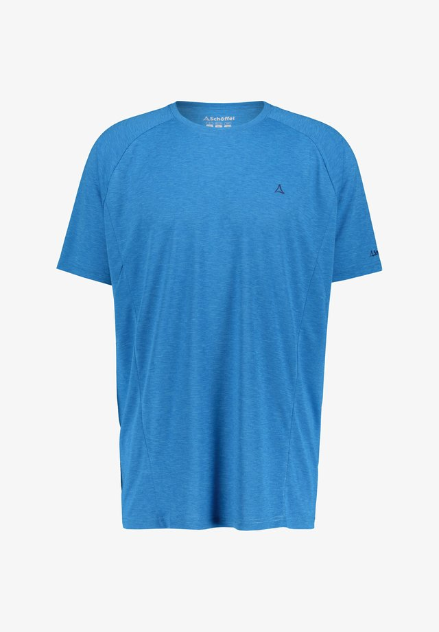 BOISE - Print T-shirt - blau