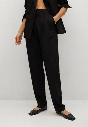 GRETA - Kalhoty - zwart