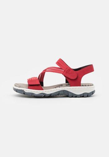 Walking sandals - fire