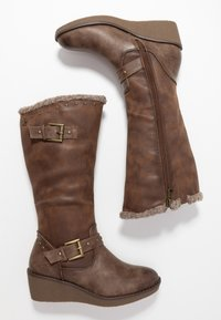 Refresh - Wedge boots - taupe - 3
