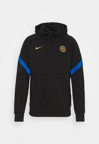 Nike Performance - INTER MAILAND HOOD - Club wear - black/blue spark/truly gold - 4