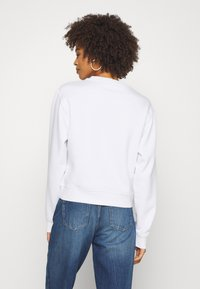 Guess - TRIANGLE - Sweatshirt - true white
