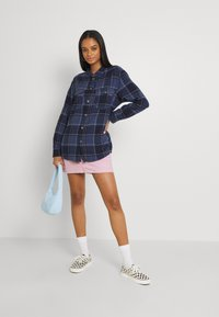 Roxy - TURN IT UP CHECK - Button-down blouse - mood indigo party - 1