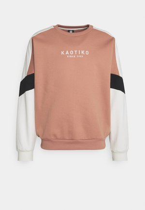 CREW SETH UNISEX - Sweater - apricot