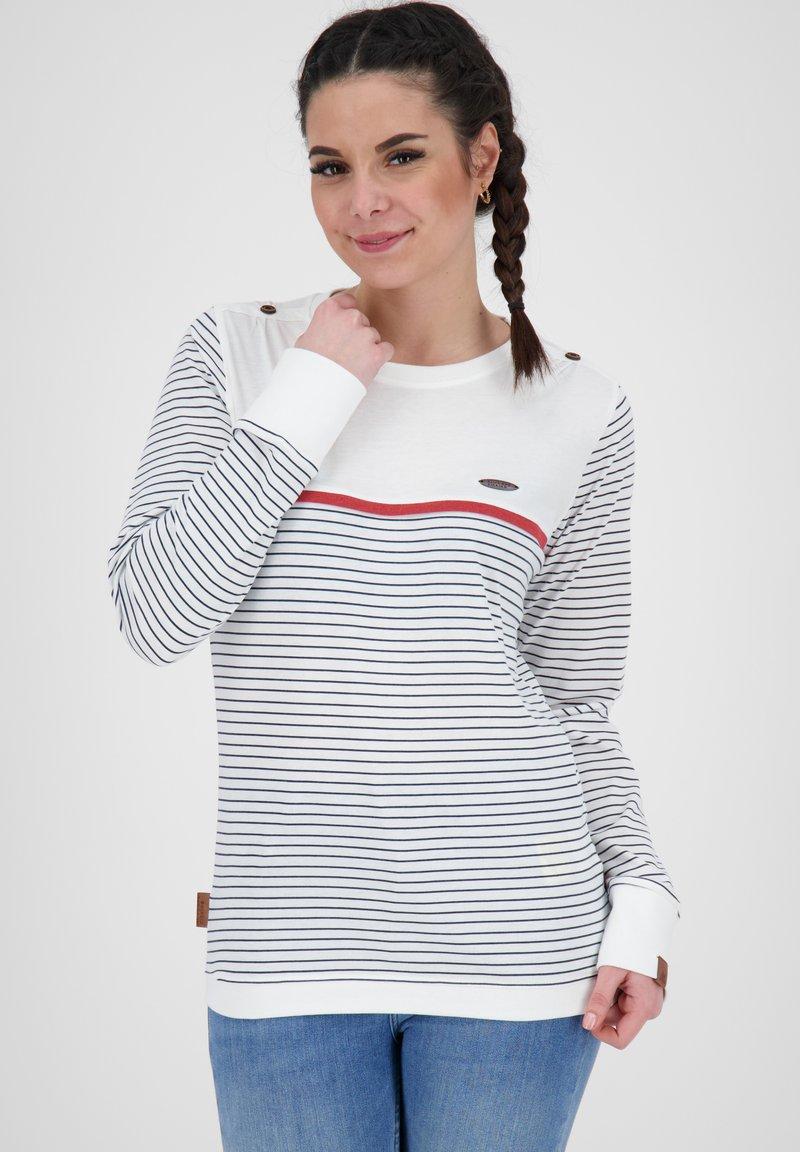 alife & kickin - Long sleeved top - white