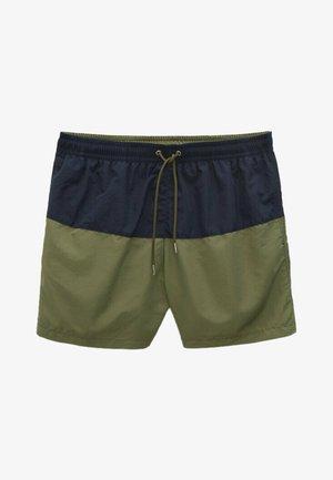 MIT FARBBLÖCKEN - Swimming shorts - khaki