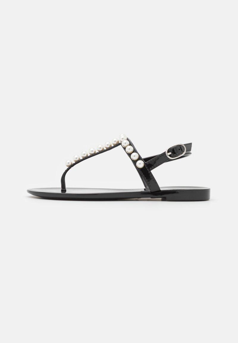 Stuart Weitzman - GOLDIE - T-bar sandals - black
