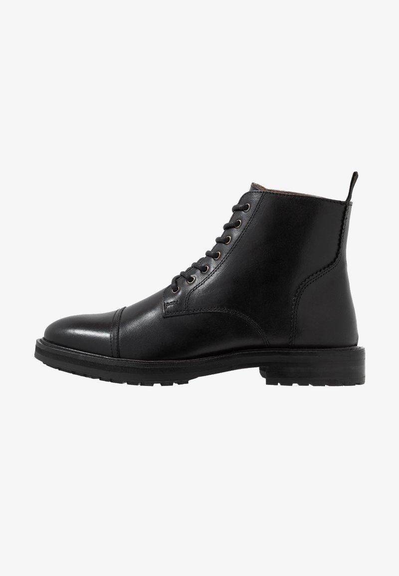 Topman - ORBIS HERITAGE BOOT - Stivaletti stringati - black