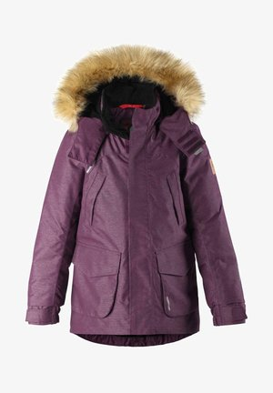 Down jacket - deep purple