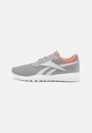 FLEXAGON ENERGY TR 3.0 MT - Obuwie treningowe - pure grey 4/pure grey 2/orange flare