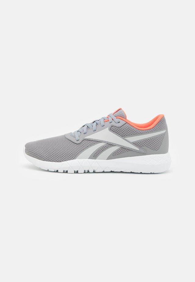 FLEXAGON ENERGY TR 3.0 MT - Sports shoes - pure grey 4/pure grey 2/orange flare