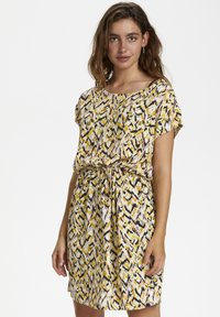 Soaked in Luxury - SL LAVADA - Sukienka letnia - mottled yellow - 0