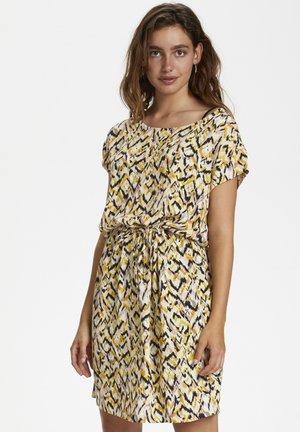 SL LAVADA - Day dress - mottled yellow