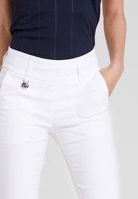 Daily Sports - MAGIC CAPRI - Trousers - white - 3