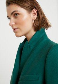 Benetton - CLASSIC TAILORED COAT - Kappa / rock - dark green - 3
