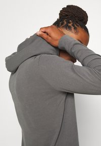 Abercrombie & Fitch - ICON HOOD - Jersey con capucha - grey - 4