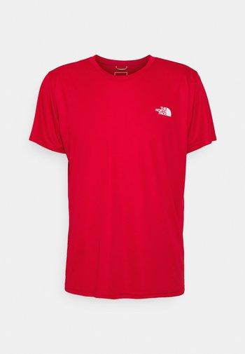 MEN'S REAXION AMP CREW - T-shirt basic - red