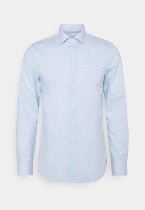LOGO PRINT SLIM SHIRT - Shirt - light blue