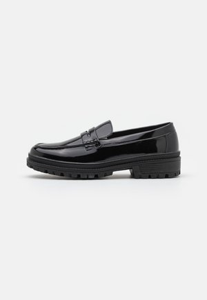 KEATON - Slip-ons - black