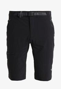 The North Face - SPEEDLIGHT SHORT - kurze Sporthose - black/black - 5