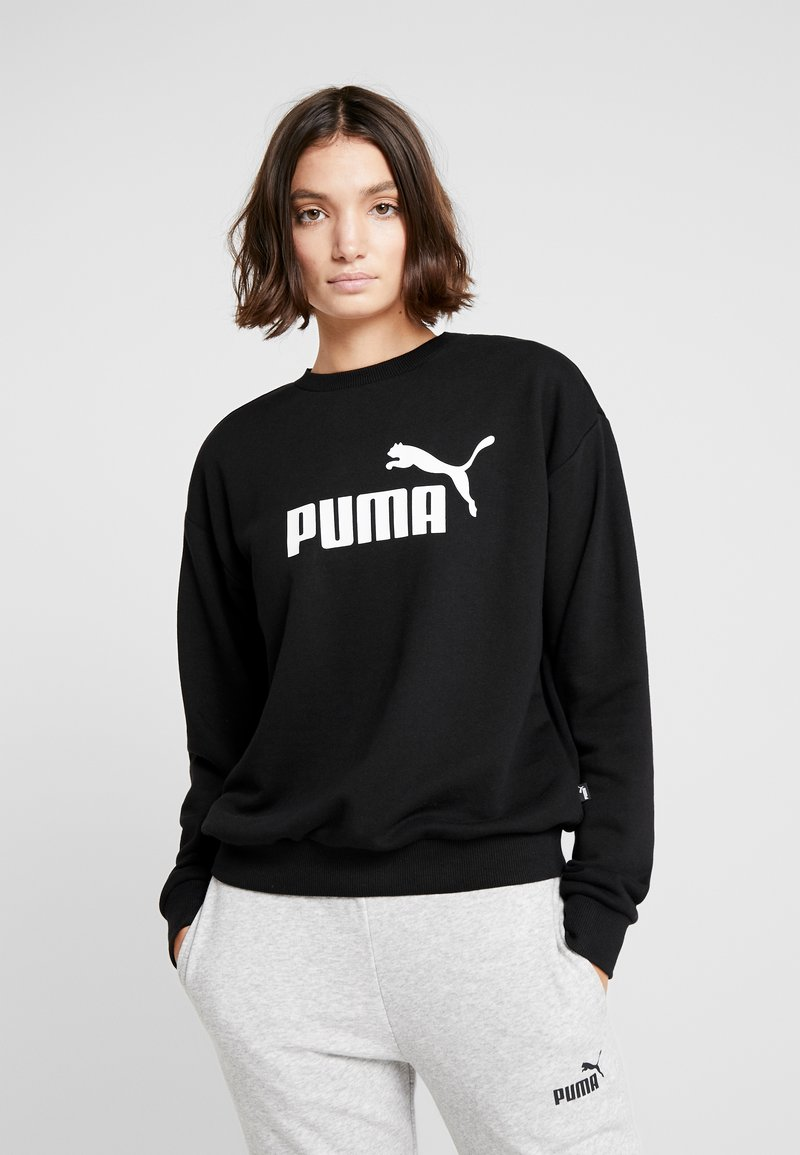 Puma - LOGO CREW  - Sudadera - black