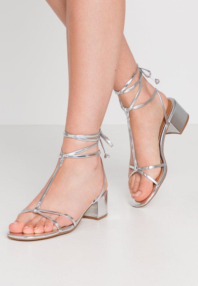 GENESIS - Sandals - silver