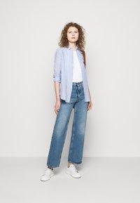 Polo Ralph Lauren - STRIPE LONG SLEEVE - Button-down blouse - white - 1