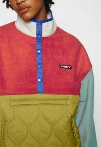 Obey Clothing - JUNIPER POPOVER - Fleecegenser - orange - 5