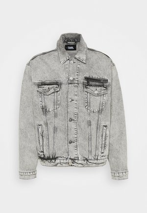 JACKET UNISEX - Giacca di jeans - light grey