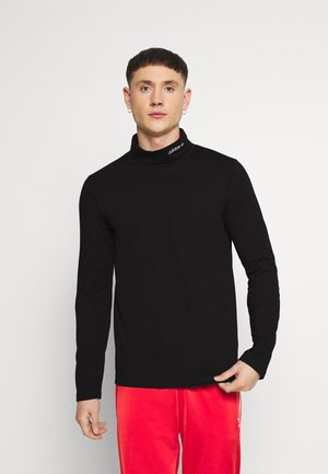 BASE LAYER - Top s dlouhým rukávem - black